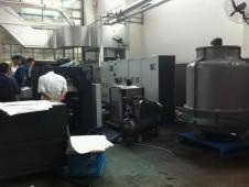 江西中景集团有限公司胶印机加装UV系统