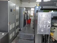 上海浦东浦发包装印刷有限公司胶印机加装UV系统