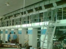 广州兴盛号包装材有限公司凹印机加装UV系统