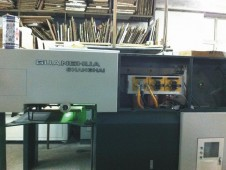 上海光华印刷机PZ5740加装UV系统
