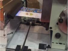 加装中山精科LED-UV设备的中特商标胶印刷机视频