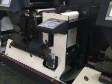 高速胶印标签印刷机加装UV(可印刷迪仕尼门票)